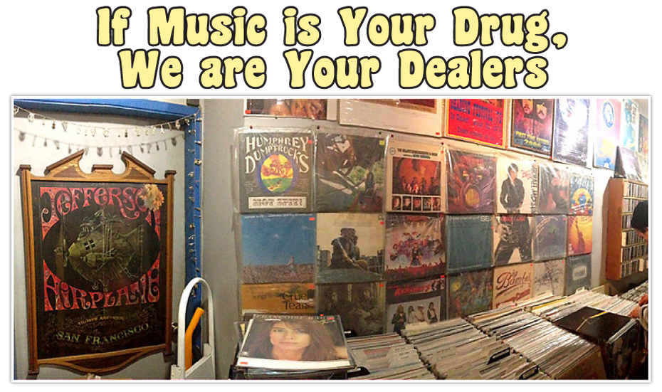 If Music is Your Drug, We are Your Dealers