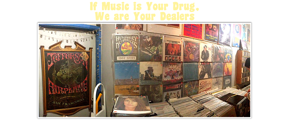 If music is your drug, we are your dealers | Shopping for records