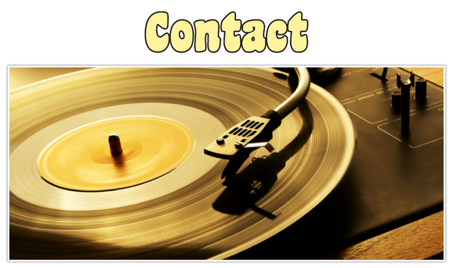 Contact | Record player